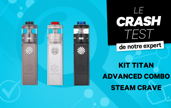 Kit Titan Advanced Combo Steam Crave