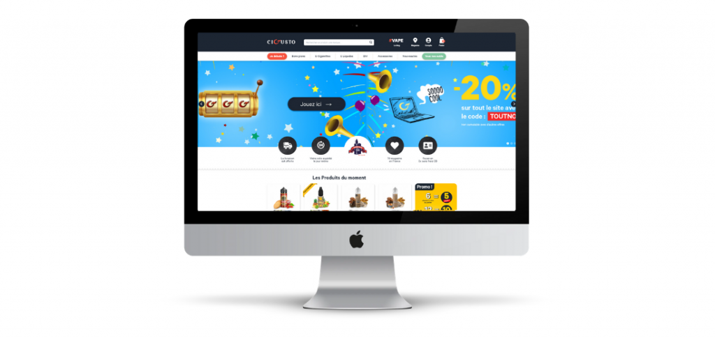 Cigusto nouveau site web