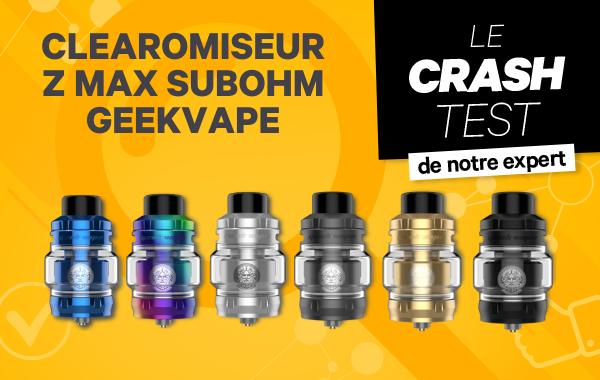 Clearomiseur Z Max SubOhm – Geekvape