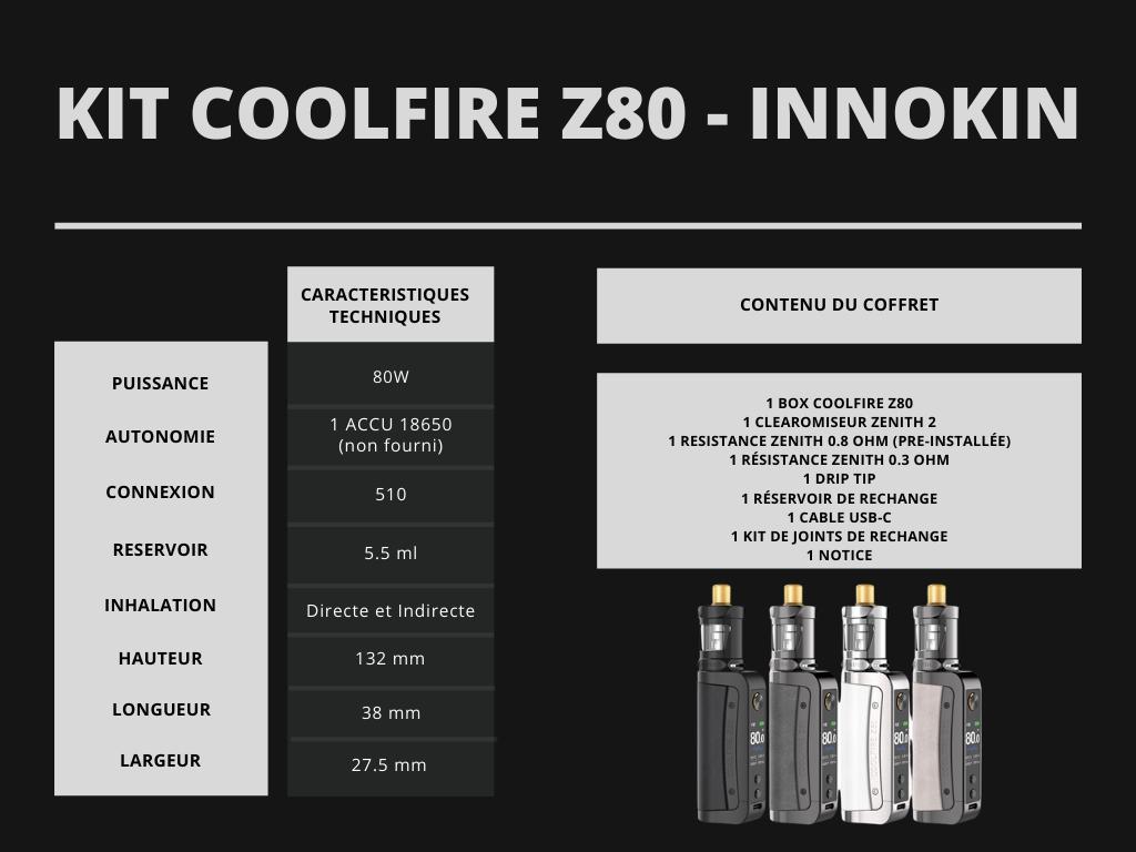 Cigusto Kit Coolfire Z80 Innokin