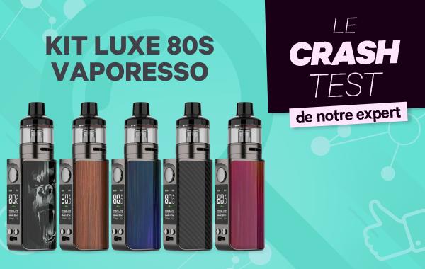 Luxe 80 S Vaporesso: La  Luxe se met à l'heure du pod dans un format de poche.