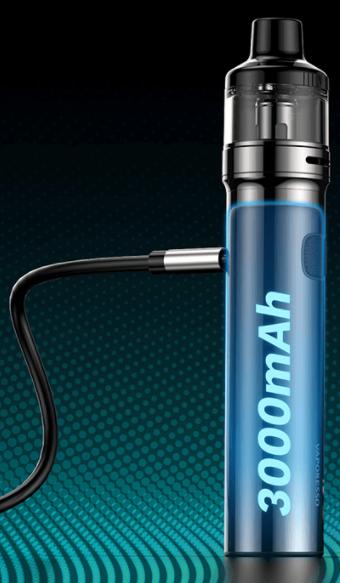 CIgusto kit GTX Go 80 Vaporesso batterie 3000 mah