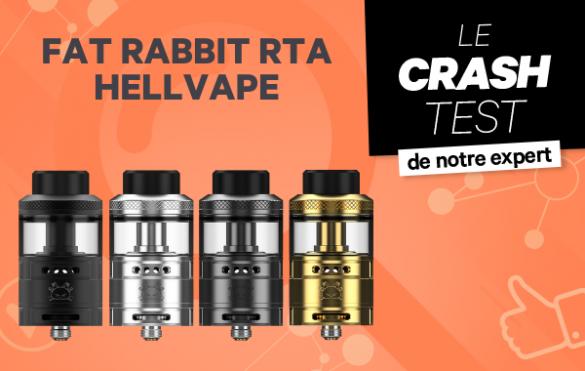 Atomiseur Fat Rabbit RTA Hellvape