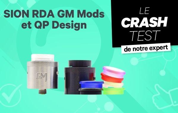 Sion RDA Limited Edition par QP Design et GM MODS
