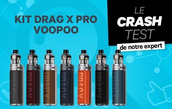 DRAG X Pro Voopoo: on garde ce qui marche et on améliore.