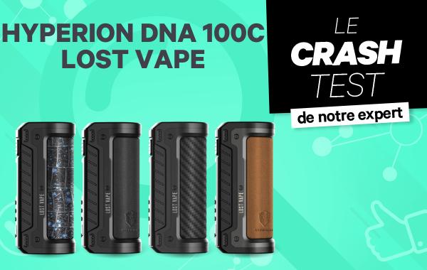 Hyperion DNA 100C Lost Vape : le mod High End à toute épreuve.
