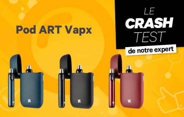 Pod ART Vapx : tout est dans la «boite»