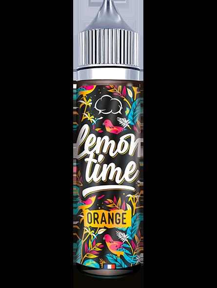 Eliquide Lemon 'Time Eliquid France : Orange, une orangeade fraiche et sucrée