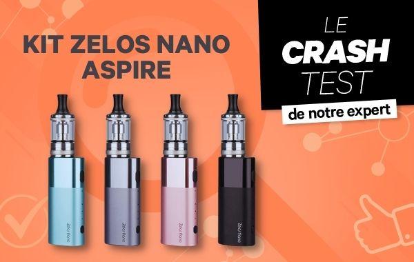 Kit ZELOS NANO Aspire : du nouveau pour les Primos