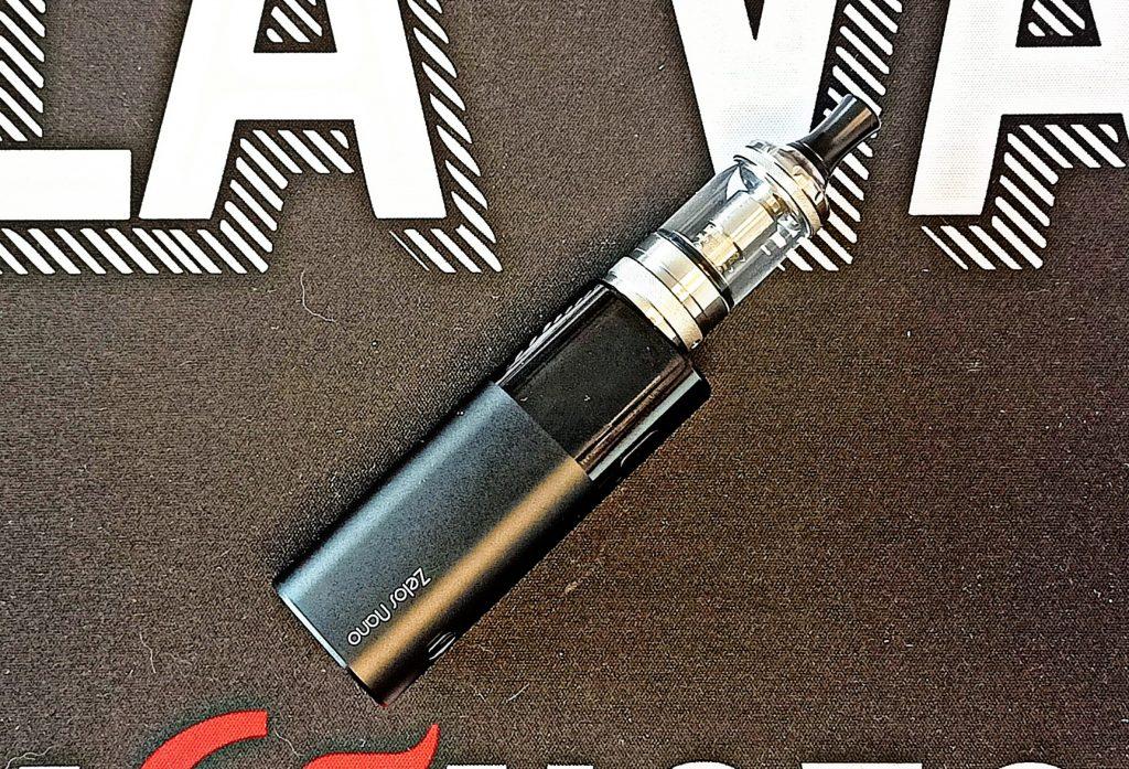 Kit ecigarette Zelos Nano D'Aspire   Cigusto   Cigarette electronique pour débutants et primo vapoteurs